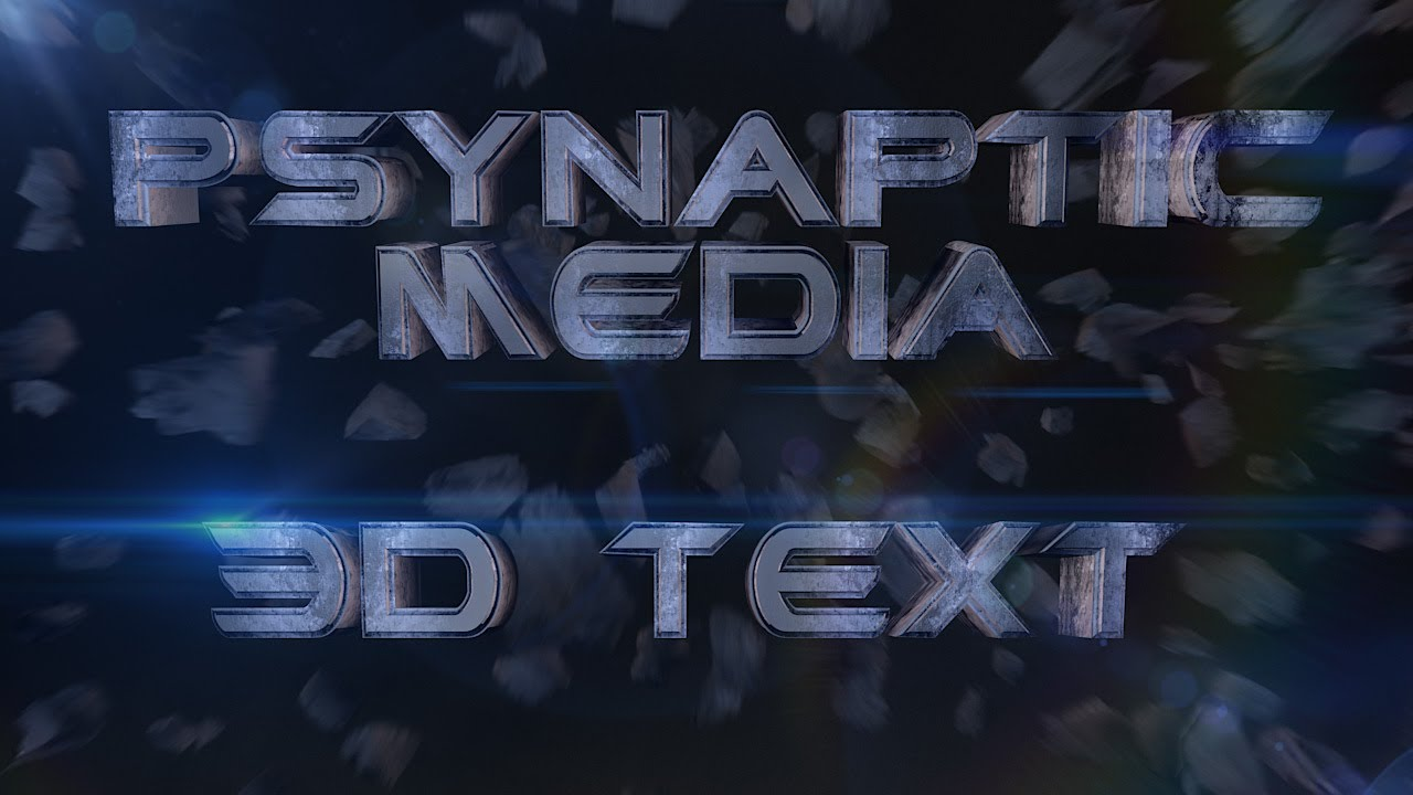 3D Text in Cinema 4D & After Effects Workflow Tutorial (Beginner and Advanced)