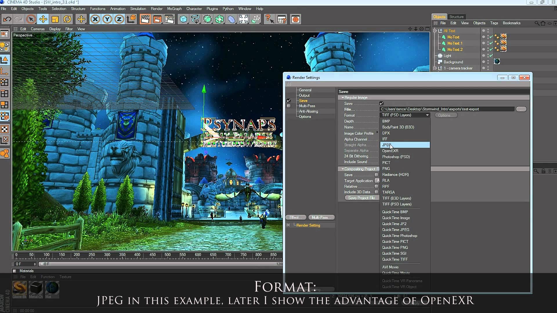 AE Tutorial: Cinema 4D & After Effects CS6 3D Camera Tracker – Part I