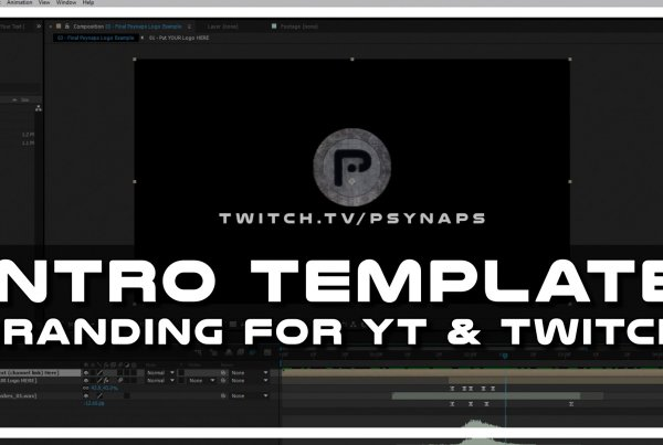 Intro Template for YouTube, Twitch, and Twitter Branding [Download]