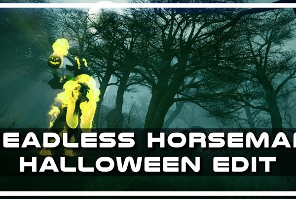 Headless Horseman 3D Halloween by Psynaps (Project file Download)